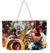 Louis Armstrong . Weekender Tote Bag