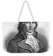 Louis Saint-just (1767-1794) Weekender Tote Bag