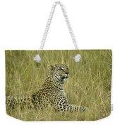 Lovely Leopard Weekender Tote Bag