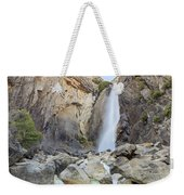 Lower Yosemite Fall In The Famous Yosemite Weekender Tote Bag
