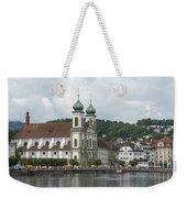 Lucerne Switzerland Weekender Tote Bag