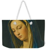 Madonna At Prayer Weekender Tote Bag