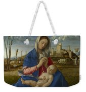 Madonna Of The Meadow Weekender Tote Bag