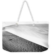 Magnificent Sandy Waves On Dunes At Sunny Day Weekender Tote Bag