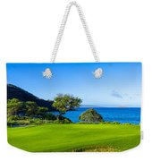 Makena Golf Course In Makena Area Weekender Tote Bag
