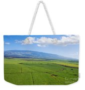 Maui Sugar Cane Weekender Tote Bag