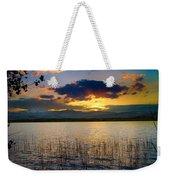 Mcintosh Lake Sunset Weekender Tote Bag
