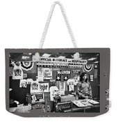 Merchandise George Mcgovern For President Democratic Nat'l Convention Miami Beach Florida 1972 Weekender Tote Bag
