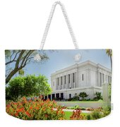Mesa Temple Sun Glow Weekender Tote Bag