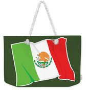 Mexico Flag Weekender Tote Bag