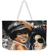 Micheal Jackson Weekender Tote Bag
