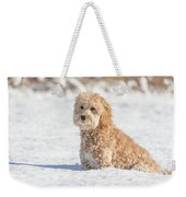 Mini Golden Doodle  Weekender Tote Bag