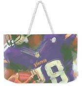 Minnesota Vikings Adrian Peterson Weekender Tote Bag
