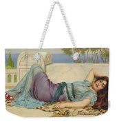 Mischief And Repose Weekender Tote Bag