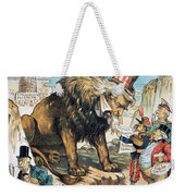 Monroe Doctrine: Cartoon Weekender Tote Bag
