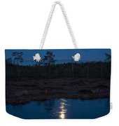 Moon Over Wetlands Weekender Tote Bag
