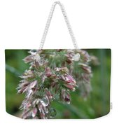 Morning Dewdrops Weekender Tote Bag