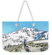 Mount Rainier National Park Weekender Tote Bag