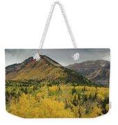 Mount Timpanogos Fall Colors Weekender Tote Bag