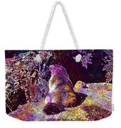 Mountain Marmot Wildlife Animals  Weekender Tote Bag