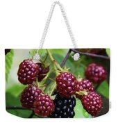 My Blackberries Weekender Tote Bag