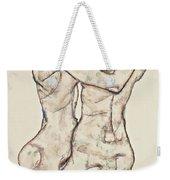 Naked Girls Embracing Weekender Tote Bag