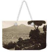 Naples: Mt. Vesuvius Weekender Tote Bag