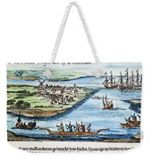 New Amsterdam Weekender Tote Bag