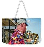 New Orleans Jazz Sax  Weekender Tote Bag
