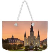 New Orleans St Louis Cathedral Weekender Tote Bag