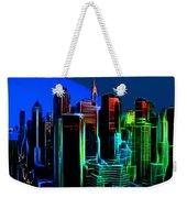 New York Colors Weekender Tote Bag