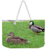 New Zealand - Pair Of Mallard Duck Weekender Tote Bag