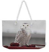 Snowy Owl 9470 Weekender Tote Bag