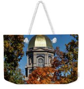 Notre Dame's Golden Dome Weekender Tote Bag