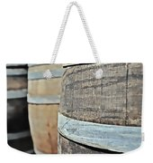 Oak Wine Barrel Weekender Tote Bag