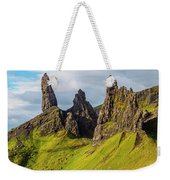 Old Man Of Storr, Isle Of Skye, Scotland Weekender Tote Bag