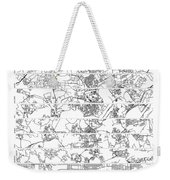 On The Road With 10 Digits Of Pi Weekender Tote Bag