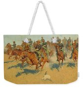 On The Southern Plains Weekender Tote Bag
