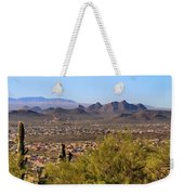 On Top Of A Mountain Weekender Tote Bag