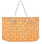 Orange Metal Weekender Tote Bag