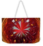 Orb Image Of A Gaillardia Weekender Tote Bag