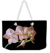 Orchid Phalaenopsis Flower Weekender Tote Bag