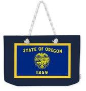 Oregon Flag Weekender Tote Bag