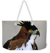 Ornate Hawk-eagle Weekender Tote Bag