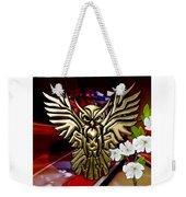 Owl In Flight Collection Weekender Tote Bag