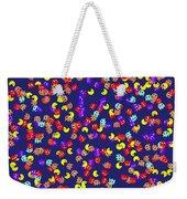 Pacman Seamless Generated Pattern Weekender Tote Bag
