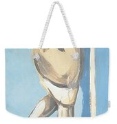 Painting Of A Young Woman Weekender Tote Bag