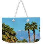 Palm Springs Mountains Weekender Tote Bag