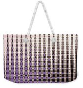 Palm Trees Abstract Design Weekender Tote Bag