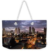 Panama City At Night Weekender Tote Bag